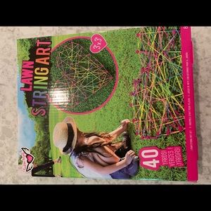 Other - NEW in box- never opened- Lawn String art kit